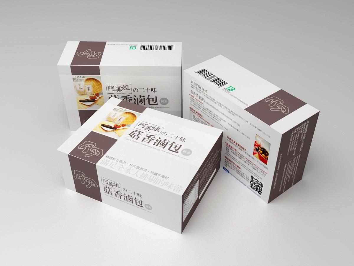 阿美姐的二十味菇香滷包(30gX2袋)純素