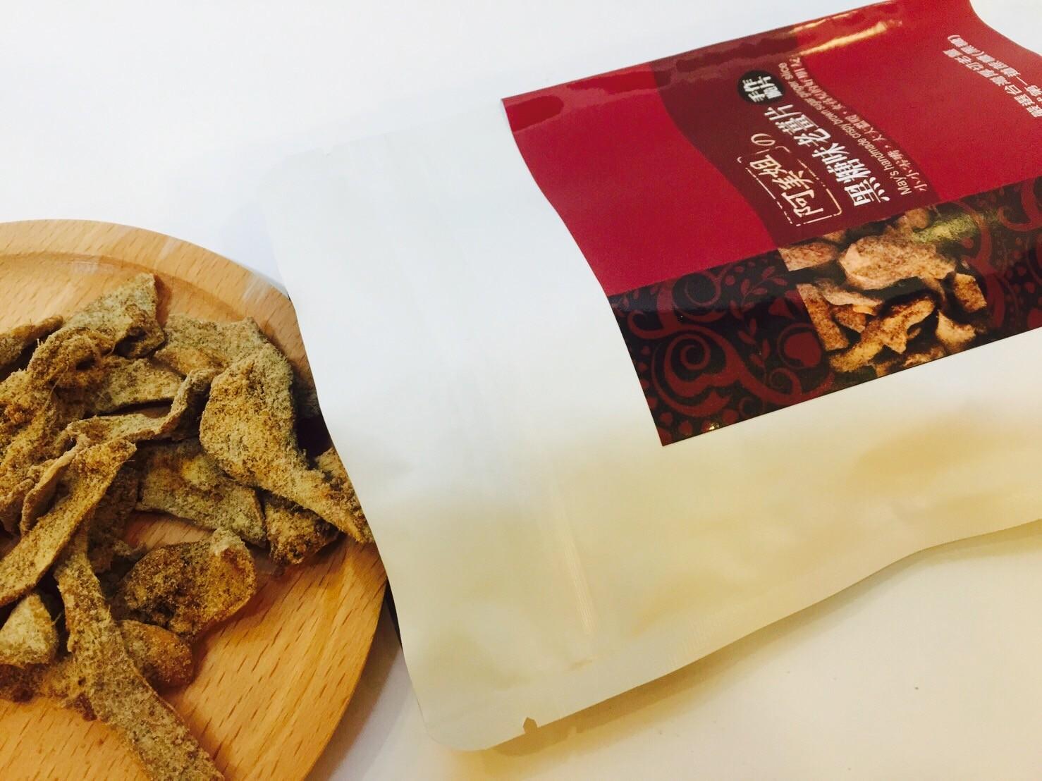 阿美姐的黑糖味老薑片100G/包