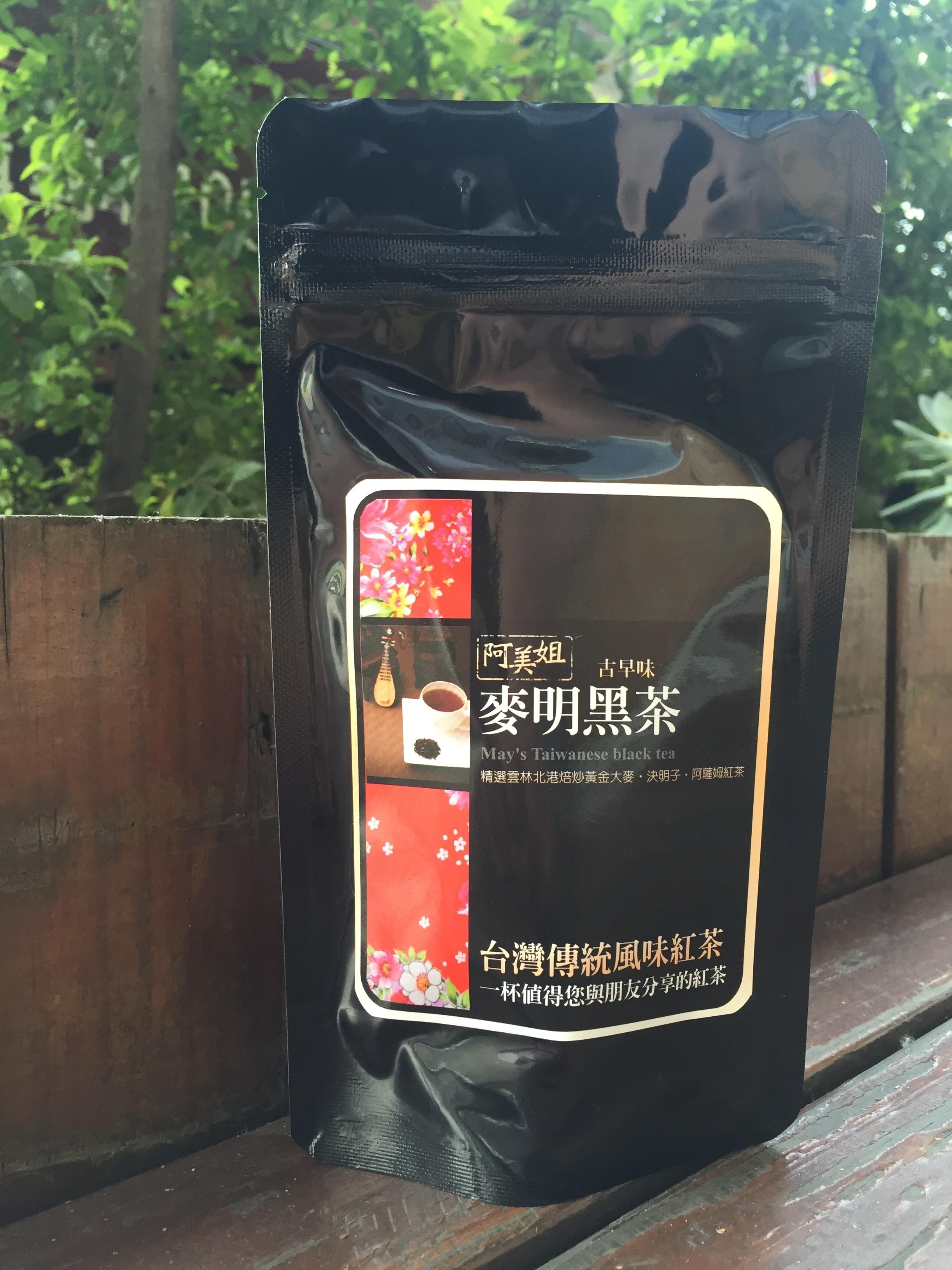 阿美姐的古早味麥明黑茶60g/包(大麥決明子紅茶)